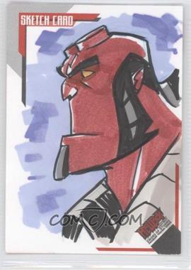 2007 Inkworks Hellboy Animated Sword of Storms - Sketch Cards #SK.3 - Greg Guler /250