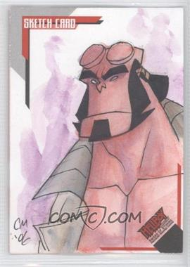 2007 Inkworks Hellboy Animated Sword of Storms - Sketch Cards #SK.6 - Chris Moreno /275
