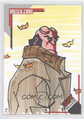 2007 Inkworks Hellboy Animated Sword of Storms - Sketch Cards #SK.9 - John Czop /233