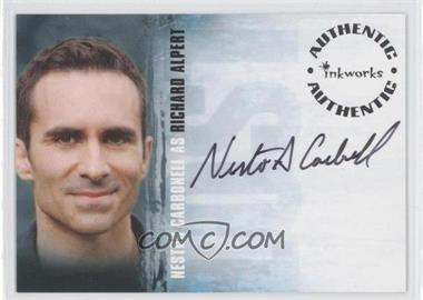 2007 Inkworks LOST Season 3 - Autographs #A-30 - Nestor Carbonell as Richard Alpert