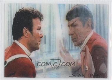 2007 Rittenhouse Star Trek: The Complete Movies - In Motion Lenticular #M2.9 L2 - Spock, Captain Kirk