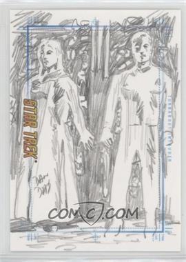 2007 Rittenhouse Star Trek: The Complete Movies - Sketchafex #DADA.1 - Dan Day (Turnabout Intruder) /1