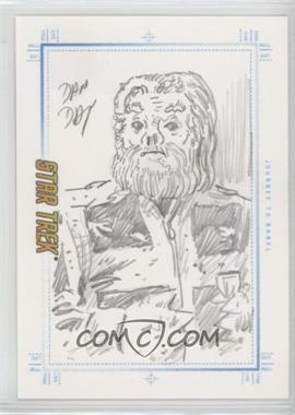 2007 Rittenhouse Star Trek: The Complete Movies - Sketchafex #DADA.2 - Dan Day (Journey to Babel) /1