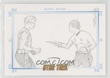 2007 Rittenhouse Star Trek: The Complete Movies - Sketchafex #JUSC - Justin Chung (Sulu, Mirror, Mirror) /1