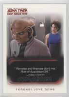 Ferengi Love Song, Children of Time