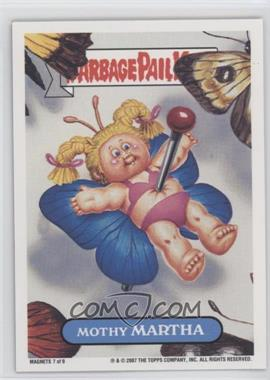 2007 Topps Garbage Pail Kids All-New Series 6 - Magnets #7 - Mothy Martha