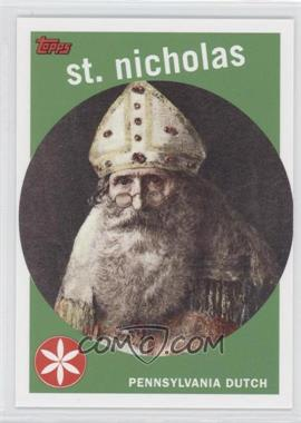 2007 Topps Santa Claus - [???] #4 - St. Nicholas