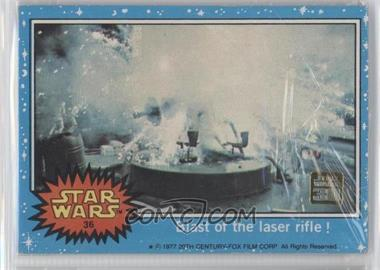2007 Topps Star Wars 30th Anniversary - Buybacks #36 - Blast of the Laser Rifle!