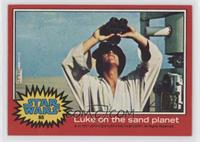 Luke on the sand planet