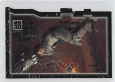2007 Topps Star Wars 30th Anniversary - Tryptich Puzzle Pieces #2.3 - Escaping Fate
