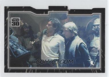 2007 Topps Star Wars 30th Anniversary - Tryptich Puzzle Pieces #4.3 - Imprisonment