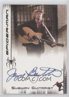 Jayce Bartok as Subway Guitarist