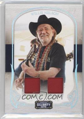 2008 Donruss Americana Celebrity Cuts - [Base] - Century Combo Materials [Memorabilia] #97 - Willie Nelson /50
