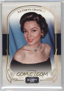 2008 Donruss Americana Celebrity Cuts - [Base] - Century Gold #42 - Kathryn Grayson /25