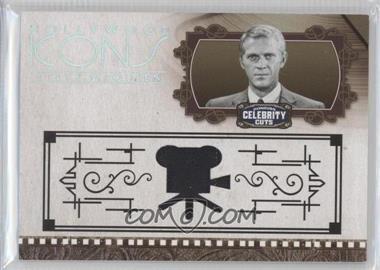 2008 Donruss Americana Celebrity Cuts - Hollywood Icons - Materials [Memorabilia] #HI-SM - Steve McQueen /100