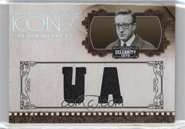 2008 Donruss Americana Celebrity Cuts - Hollywood Icons - Studio Die-Cut Materials [Memorabilia] #HI-PS - Peter Sellers /25