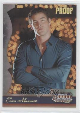 2008 Donruss Americana II - [Base] - Gold Proof #183 - Evan Marriott /100