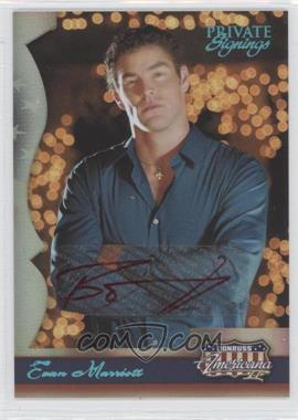 2008 Donruss Americana II - [Base] - Private Signings [Autographed] #183 - Evan Marriott /1200