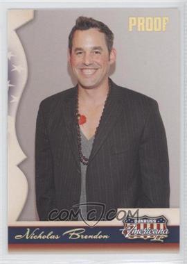 2008 Donruss Americana II - [Base] - Retail Gold Proof #140 - Nicholas Brendon /250