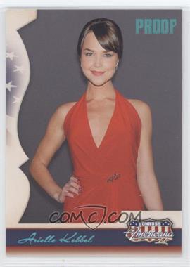 2008 Donruss Americana II - [Base] - Retail Platinum Proof #147 - Arielle Kebbel /100