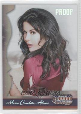 2008 Donruss Americana II - [Base] - Silver Proof #122 - Maria Conchita Alonso /250