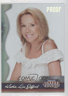 2008 Donruss Americana II - [Base] - Silver Proof #191 - Kathie Lee Gifford /250