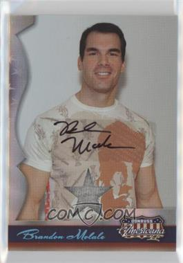 2008 Donruss Americana II - [Base] - Stars Materials Signatures [Autographed] [Memorabilia] #142 - Brandon Molale /250