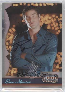 2008 Donruss Americana II - [Base] - Stars Materials Signatures [Autographed] [Memorabilia] #183 - Evan Marriott /250