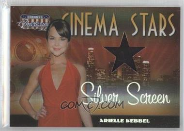 2008 Donruss Americana II - Cinema Stars - Silver Screen Stars Materials [Memorabilia] #CS-47 - Arielle Kebbel /100