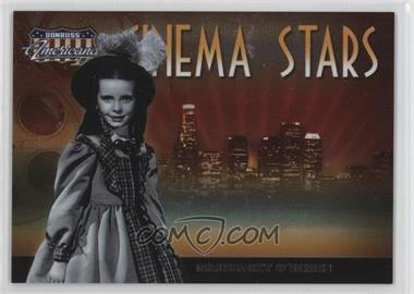 2008 Donruss Americana II - Cinema Stars #CS-40 - Margaret O'Brien /500