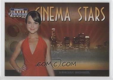 2008 Donruss Americana II - Cinema Stars #CS-47 - Arielle Kebbel /500