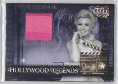 2008 Donruss Americana II - Hollywood Legends - Retail Materials [Memorabilia] #HL-49 - Mitzi Gaynor
