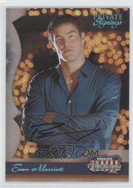 2008 Donruss Americana II - Private Signings Autographs #183 - Evan Marriott /1200