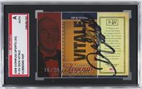Dick Vitale /25 [SGC AUTHENTIC AUTO]