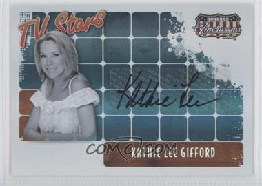 2008 Donruss Americana II - TV Stars - Autographs [Autographed] #TS-KLG - Kathie Lee Gifford /50