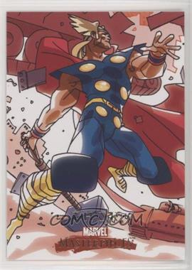 2008 Fleer Marvel Masterpieces Series 2 - [Base] #85 - Thor