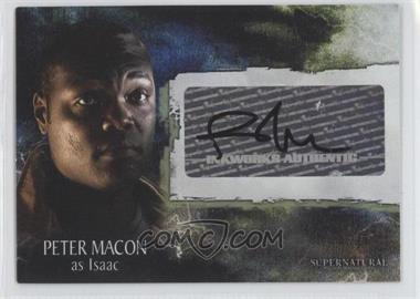 2008 Inkworks Supernatural Season 3 - Autographs #A-28 - Peter Macon as Isaac