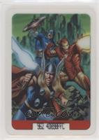 Captain America, Iron Man, Thor [EX to NM]