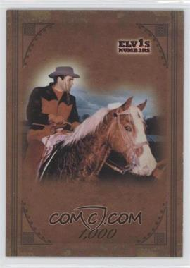 2008 Press Pass Elvis by the Numbers - [Base] - Canvas #44 - 1,000 /1