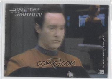 2008 Rittenhouse Star Trek: Movies In Motion - Stars in Motion #C09 - Lt. Commander Data