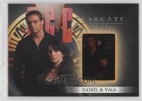 Michael Shanks as Daniel Jackson, Claudia Black as Vala Mal Doran