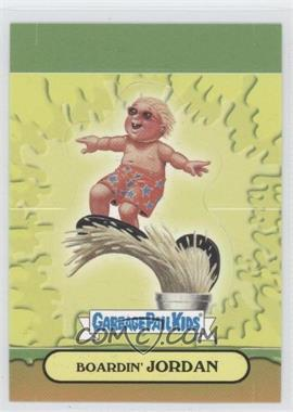 2008 Topps Garbage Pail Kids All-New Series 7 - Pop-Ups #2 - Boardin' Jordan