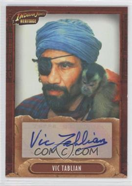 2008 Topps Indiana Jones Heritage - Autographs #VITA - Vic Tablian as Monkey Man/Barranca