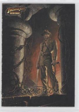 2008 Topps Indiana Jones Heritage - [Base] - White Backs #88 - Inside the Temple of Doom /500