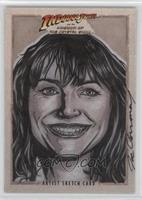 Artist Sketch Card, Marion Ravenwood /1