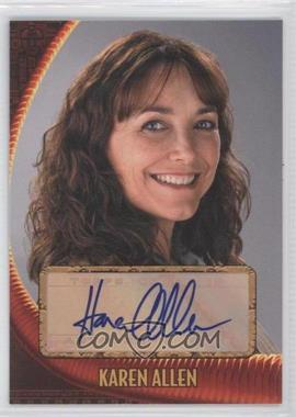 2008 Topps Indiana Jones and the Kingdom of the Crystal Skull - Autographs #N/A - Karen Allen