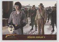 Invading Hangar 51 #/350