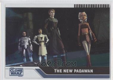 2008 Topps Star Wars: The Clone Wars - [Base] - Foil #25 - The New Padawan /205