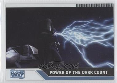 2008 Topps Star Wars: The Clone Wars - [Base] - Foil #77 - Power of the Dark Count /205