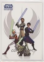 Obi-Wan Kenobi, Anakin Skywalker, Yoda, Ahsoka Tano